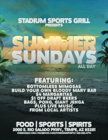 SSG Summer Sundays
