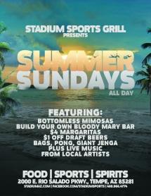 SSG Summer Sundays