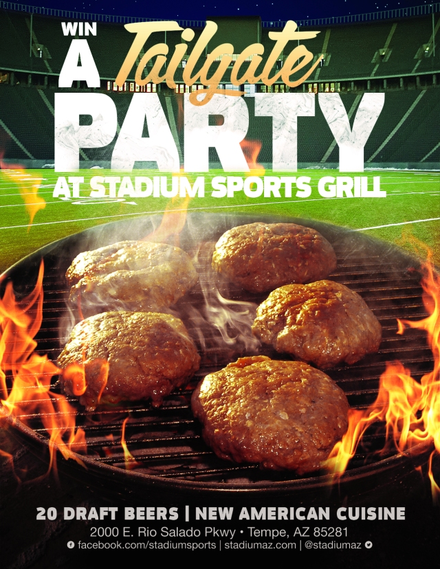 SSG Tailgate Party Flyer